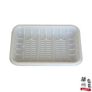 pet/ps/pp材质超市蔬菜水果包装盒一次性黑色/白色塑料生鲜托盘